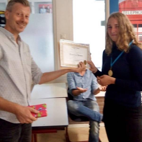 BSG-leerling 5e van Nederland bij Big Challenge