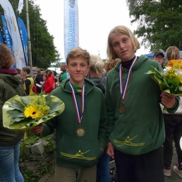 BSG-leerling Nederlands kampioen langebaan varen