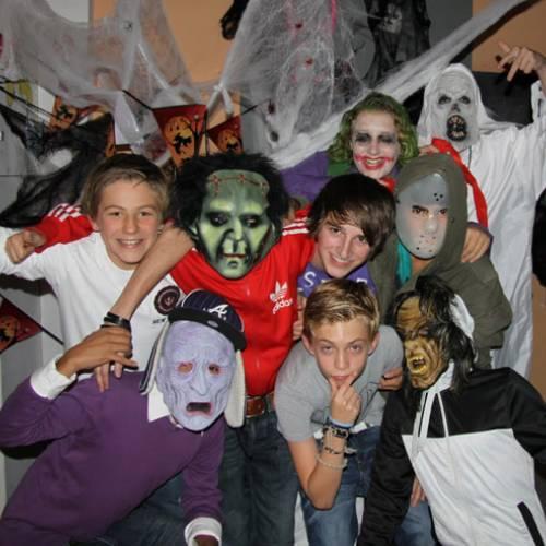 Halloweenfeest tweede klassen