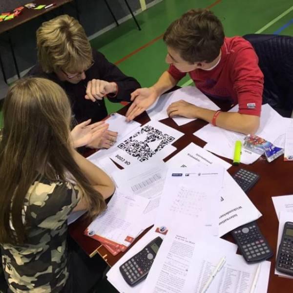 BSG door naar 2e ronde Wiskunde Olympiade