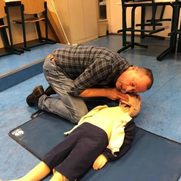 Training reanimeren en AED