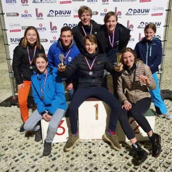 BSG wint zilver en goud op voorronde NK skiën en snowboarden