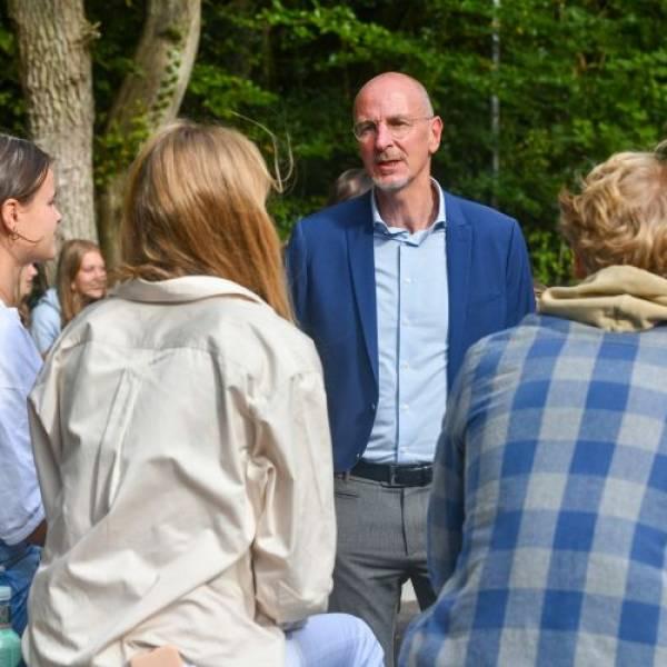 Reinoud Buijs nieuwe rector BSG